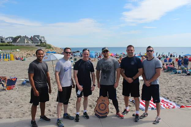 Team Portsmouth FO raising money for DSF! Thanks everyone!