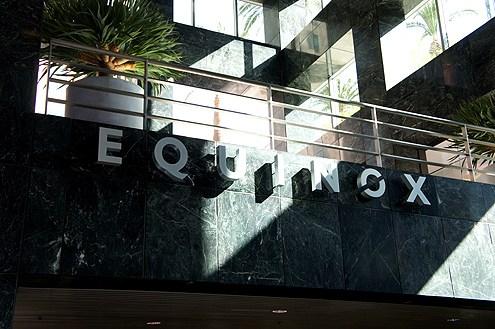 EQUINOX - DOWNTOWN LOSANGELES, CA.,THURSDAYS 5:30PM CYCLEWWW.EQUINOX.COM