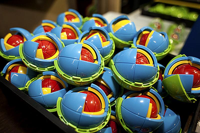 OBLO™ spheres production, photo: Nick Kozak