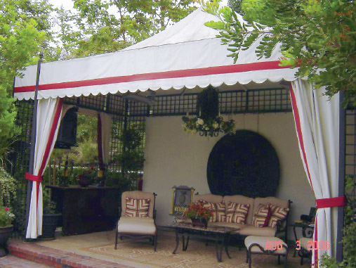King Awnings: Free Standing Cabana