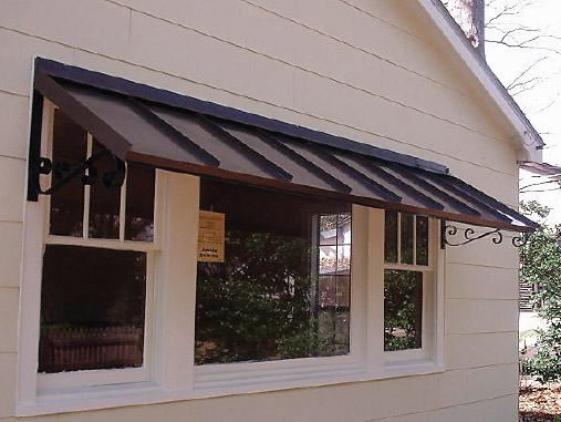 KING AWNINGS: Aluminum Awnings