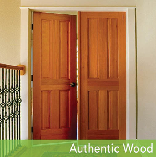 HomeStory: Authentic Wood Doors