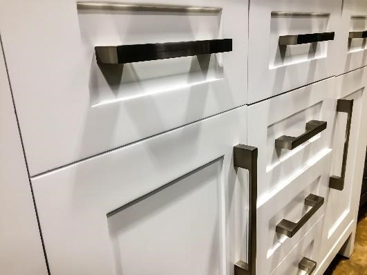 shaker cabinets white just home