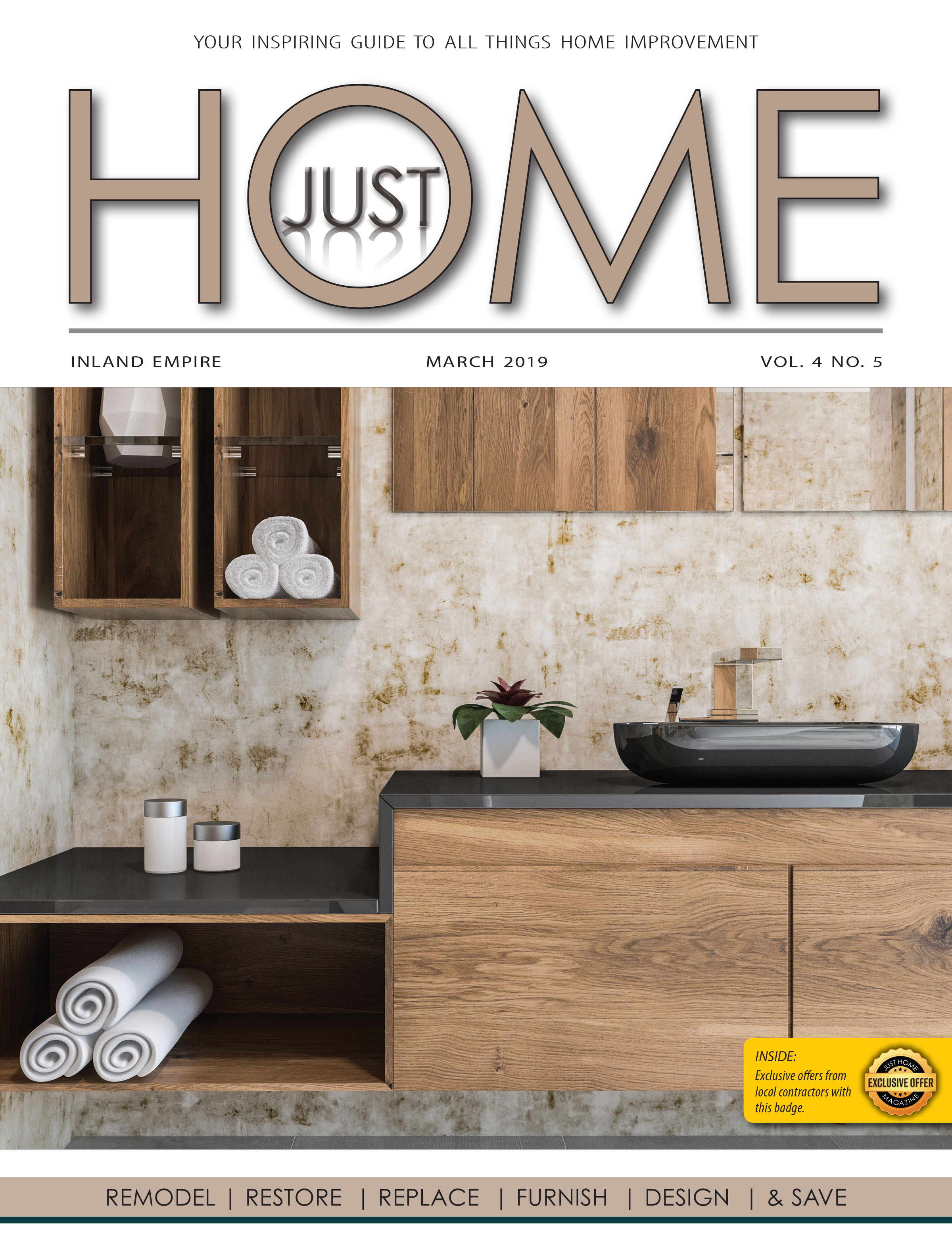 INLAND EMPIRE  - Just Home MARCH 2019 ISSUE