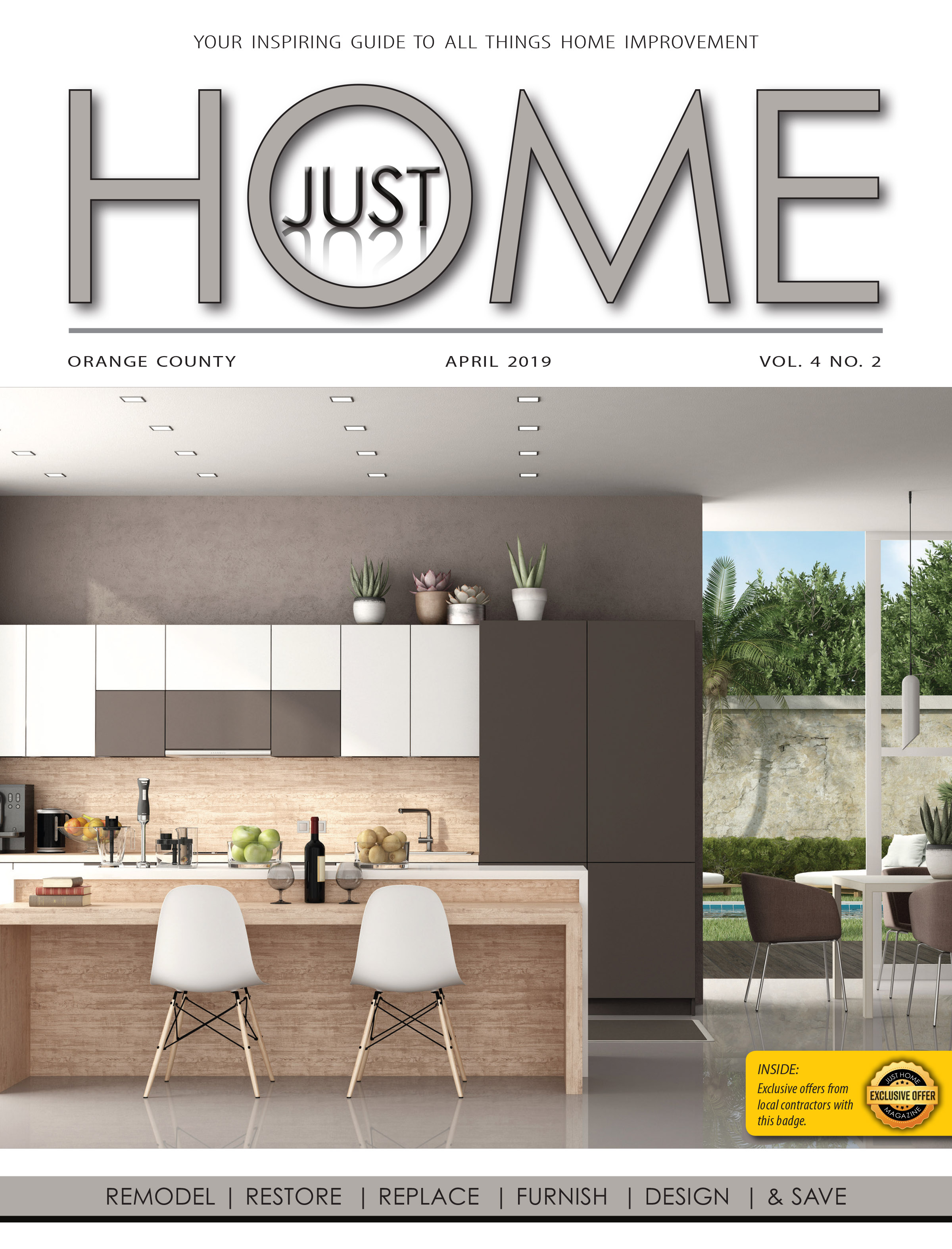ORange County  - Just Home APRIL 2019 ISSUE