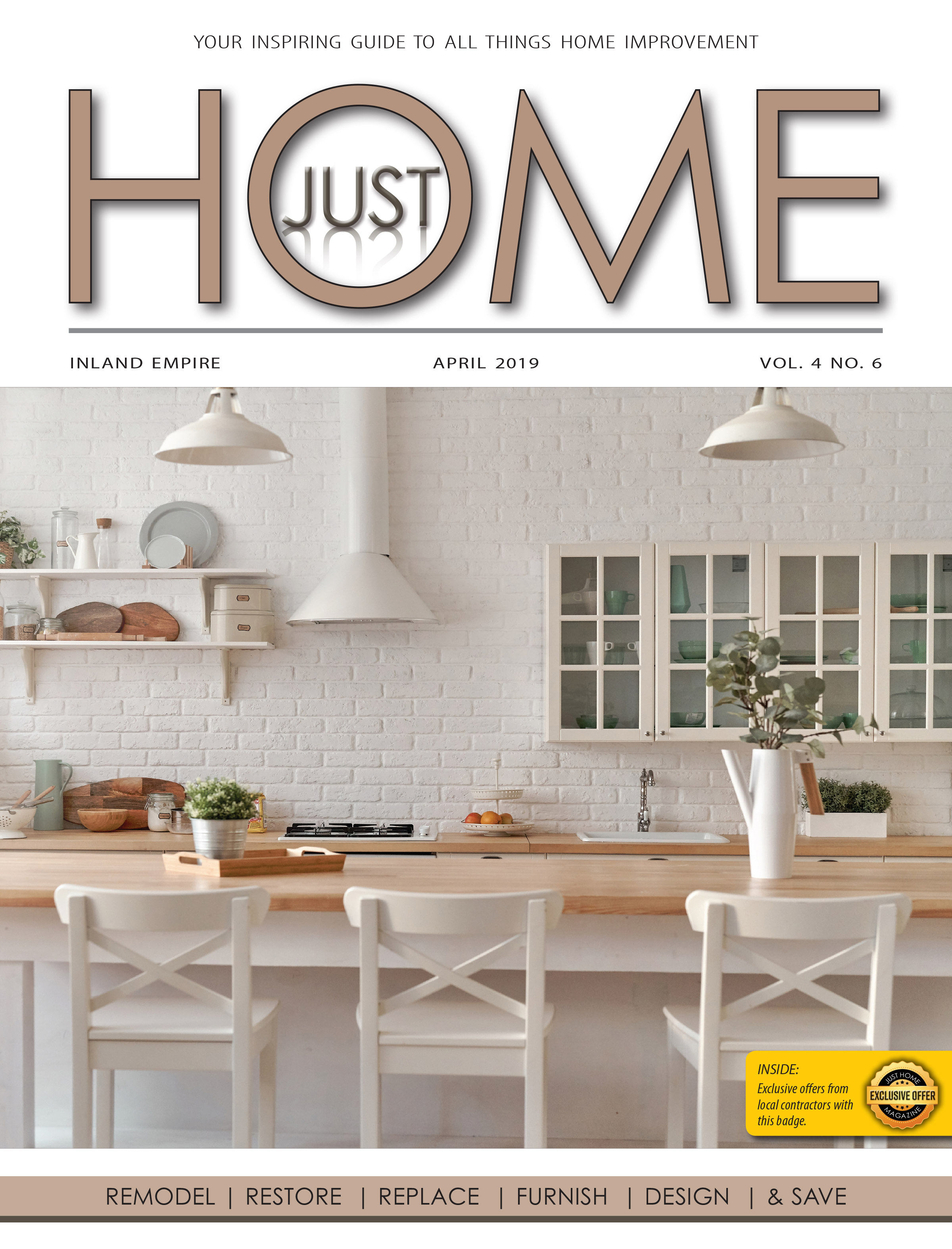 INLAND EMPIRE  - Just Home April 2019 ISSUE