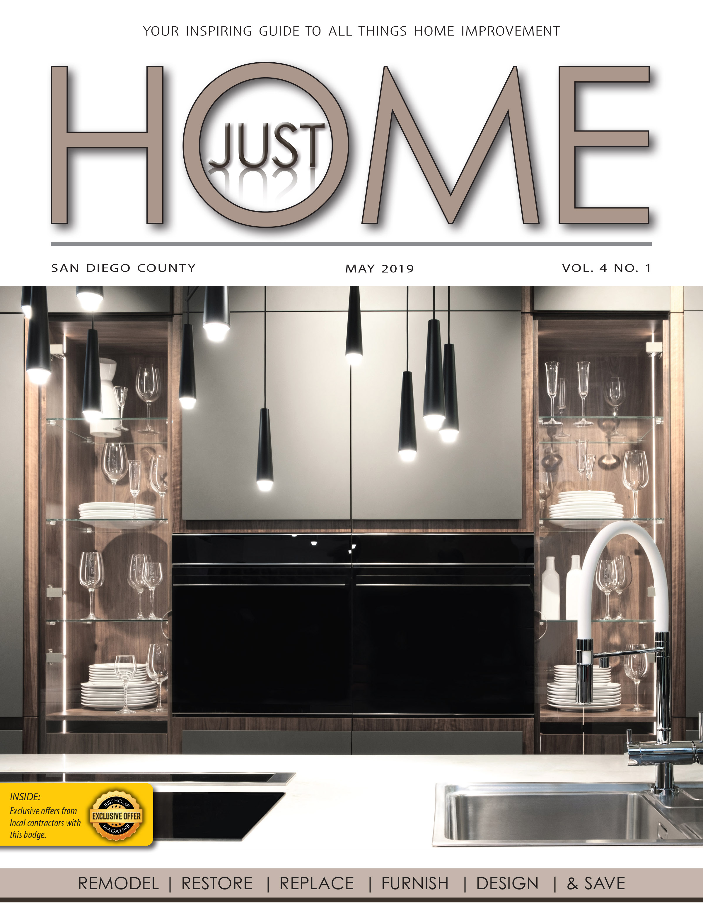 SAN DIEGO County  - Just Home May 2019 ISSUE