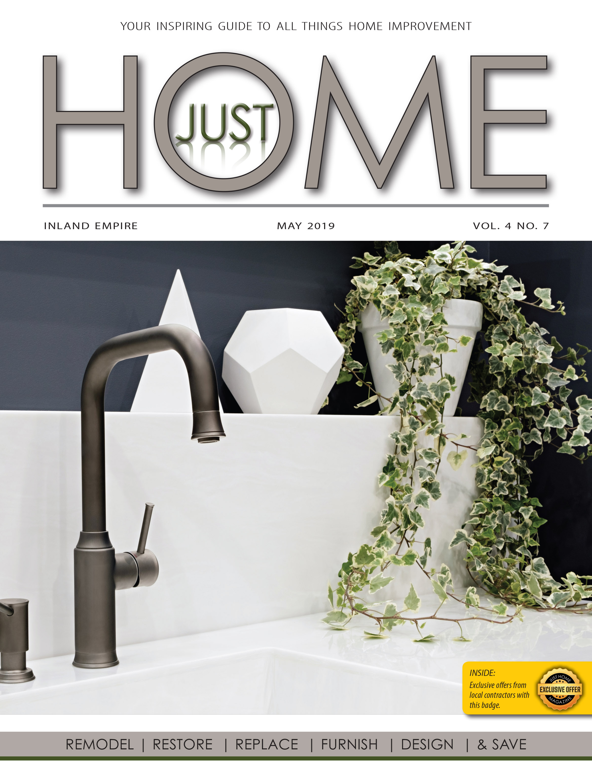 INLAND EMPIRE  - Just Home May 2019 ISSUE