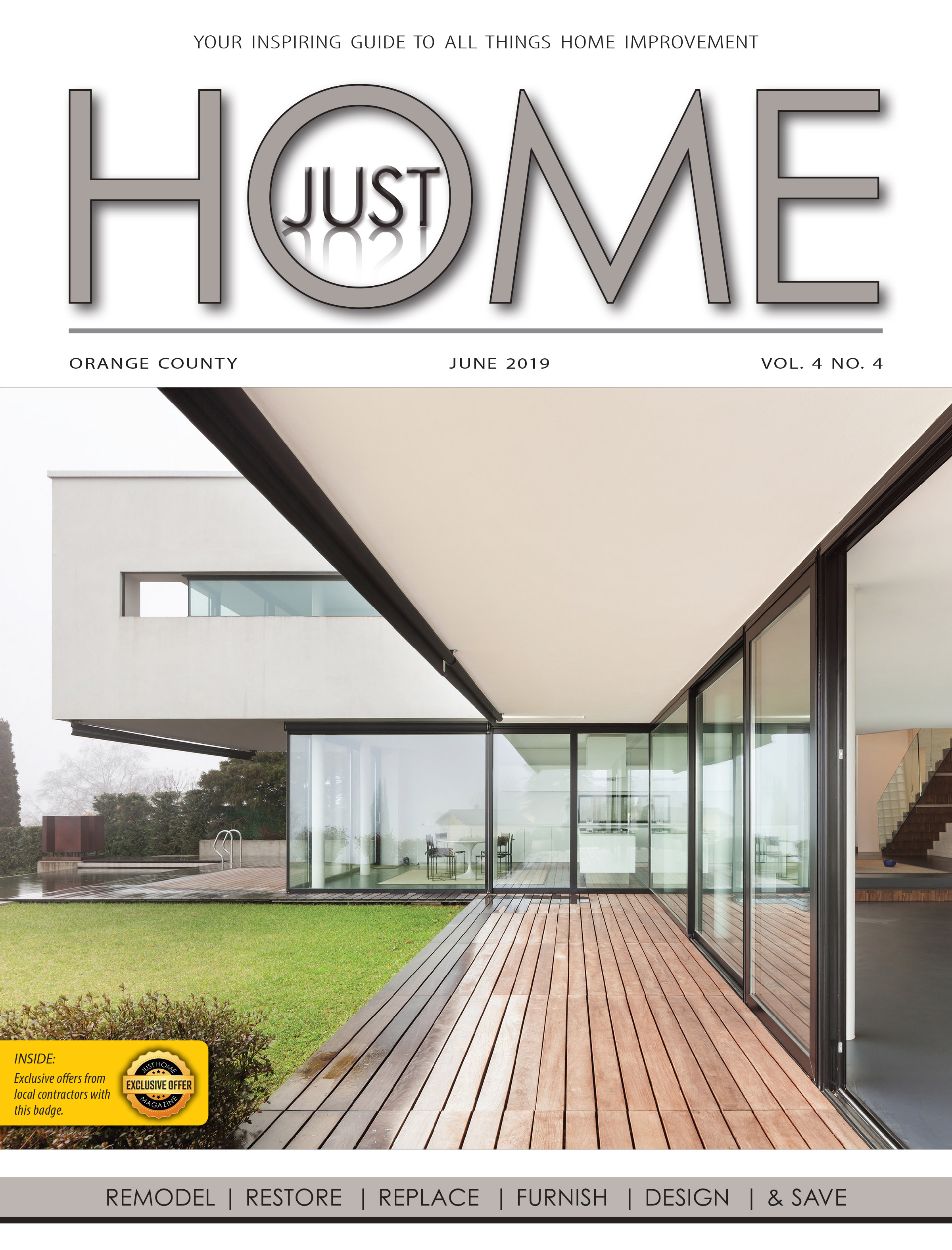 ORange County  - Just Home June 2019 ISSUE