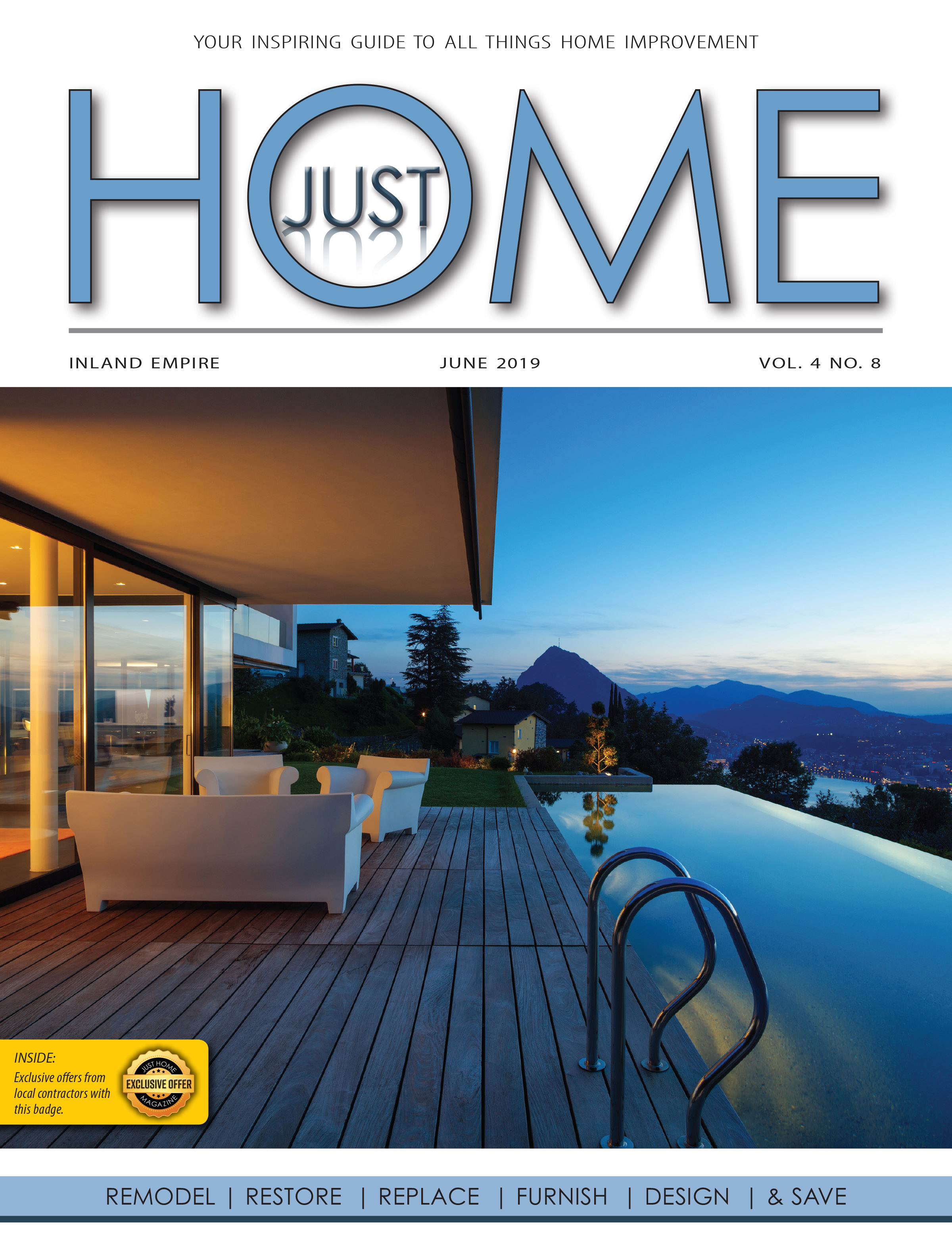 INLAND EMPIRE  - Just Home June 2019 ISSUE