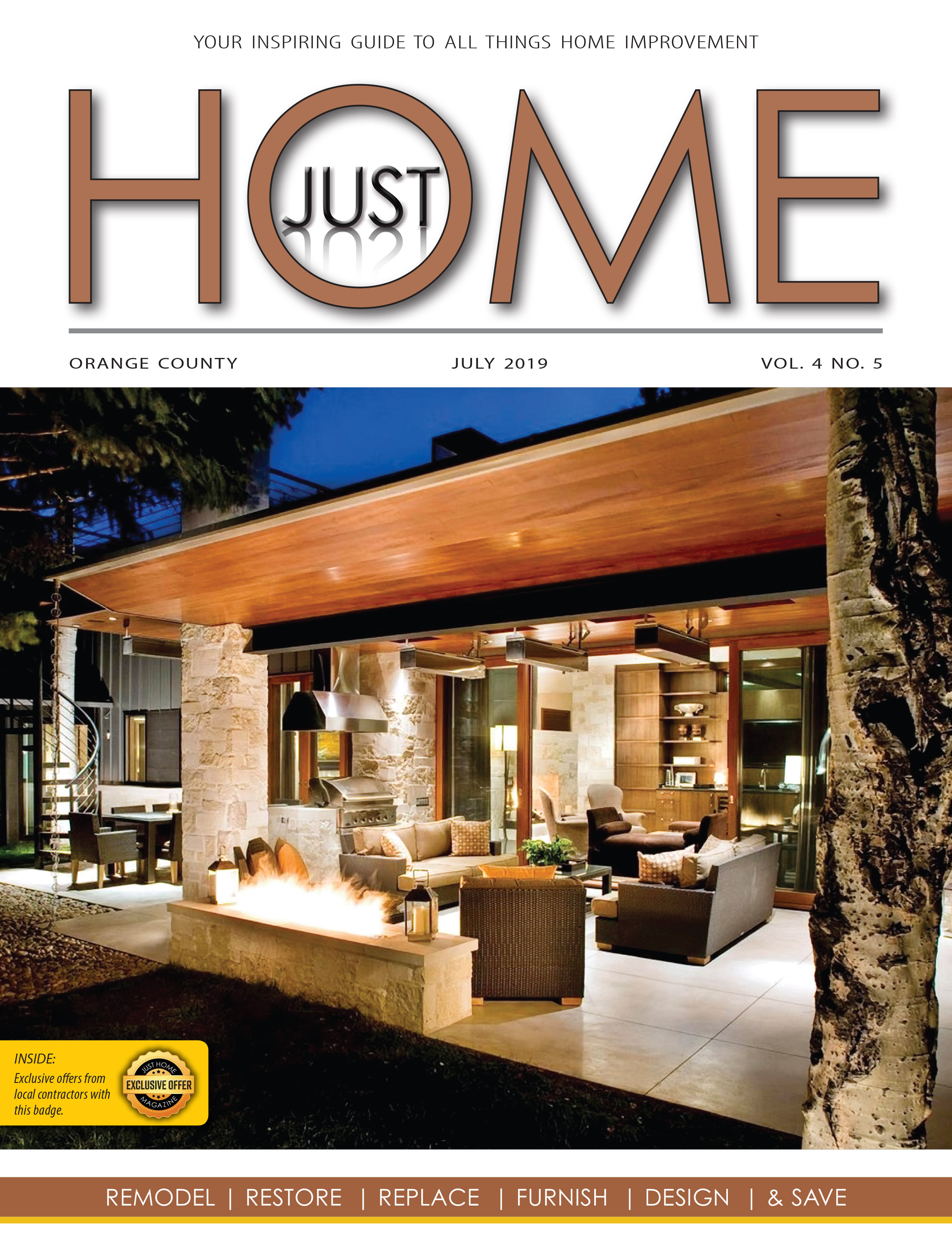 ORange County  - Just Home July 2019 ISSUE