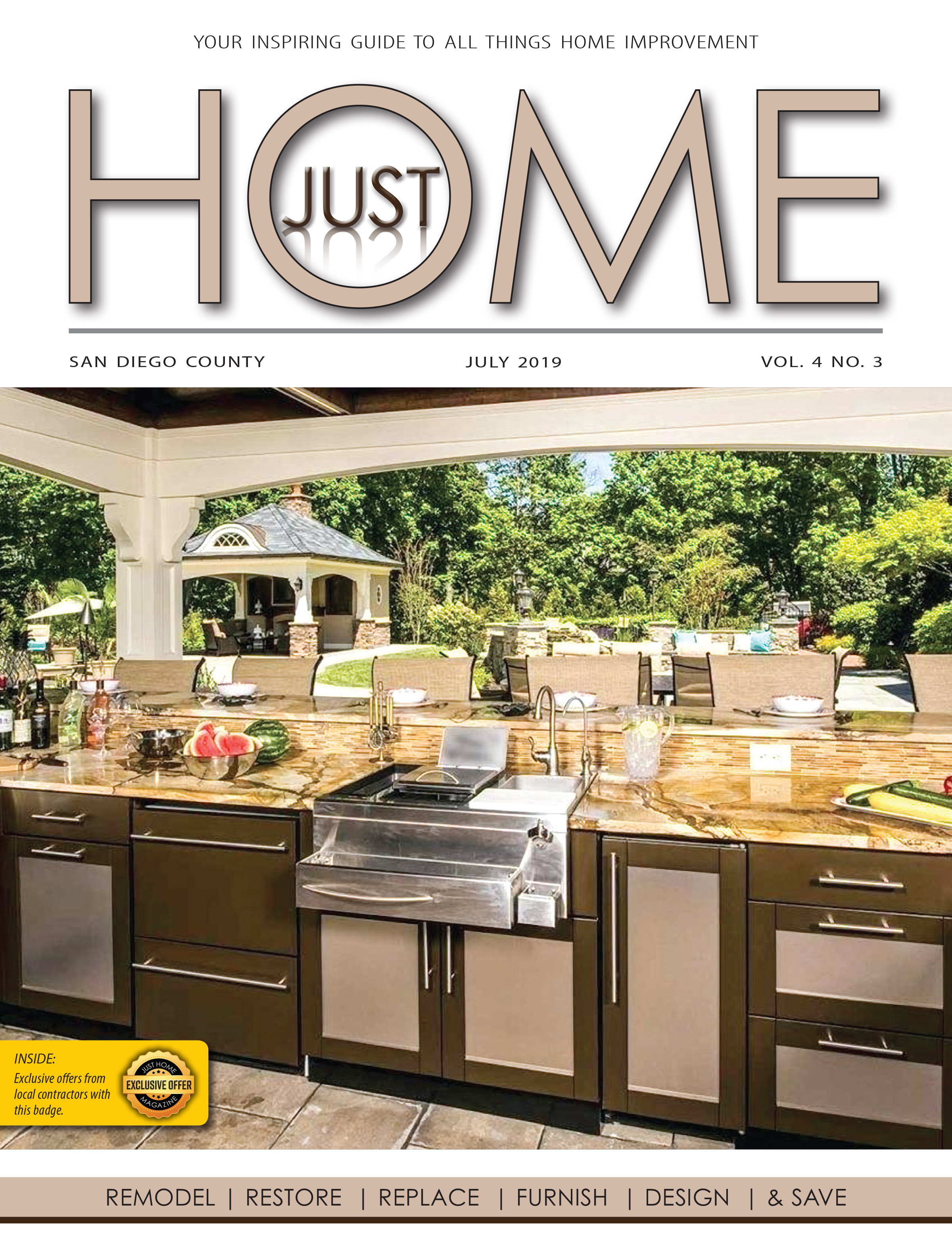 SAN DIEGO County  - Just Home July 2019 ISSUE