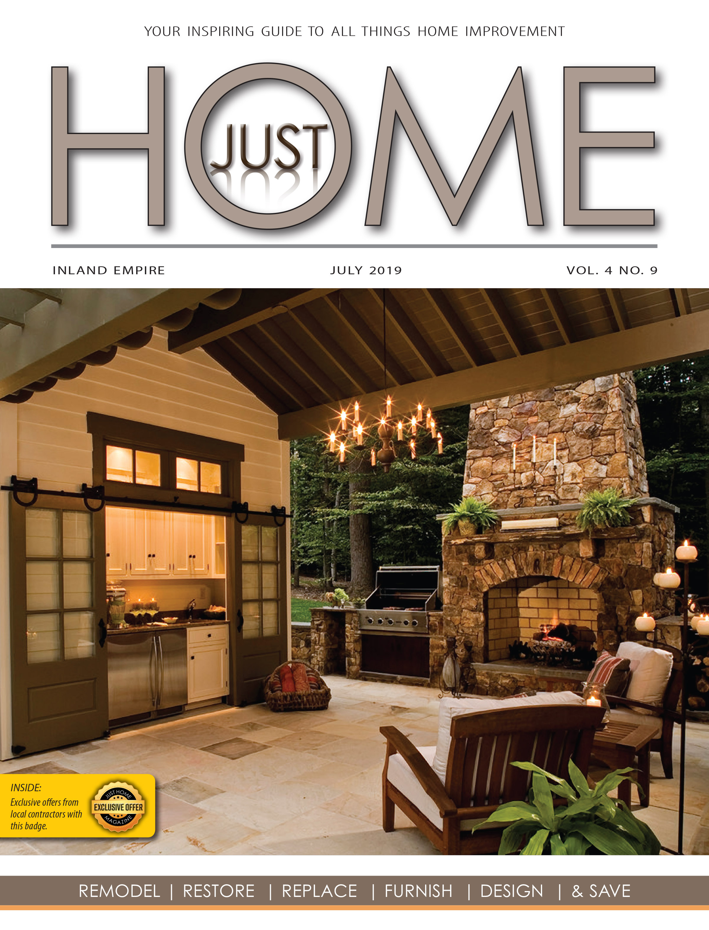 INLAND EMPIRE  - Just Home July 2019 ISSUE