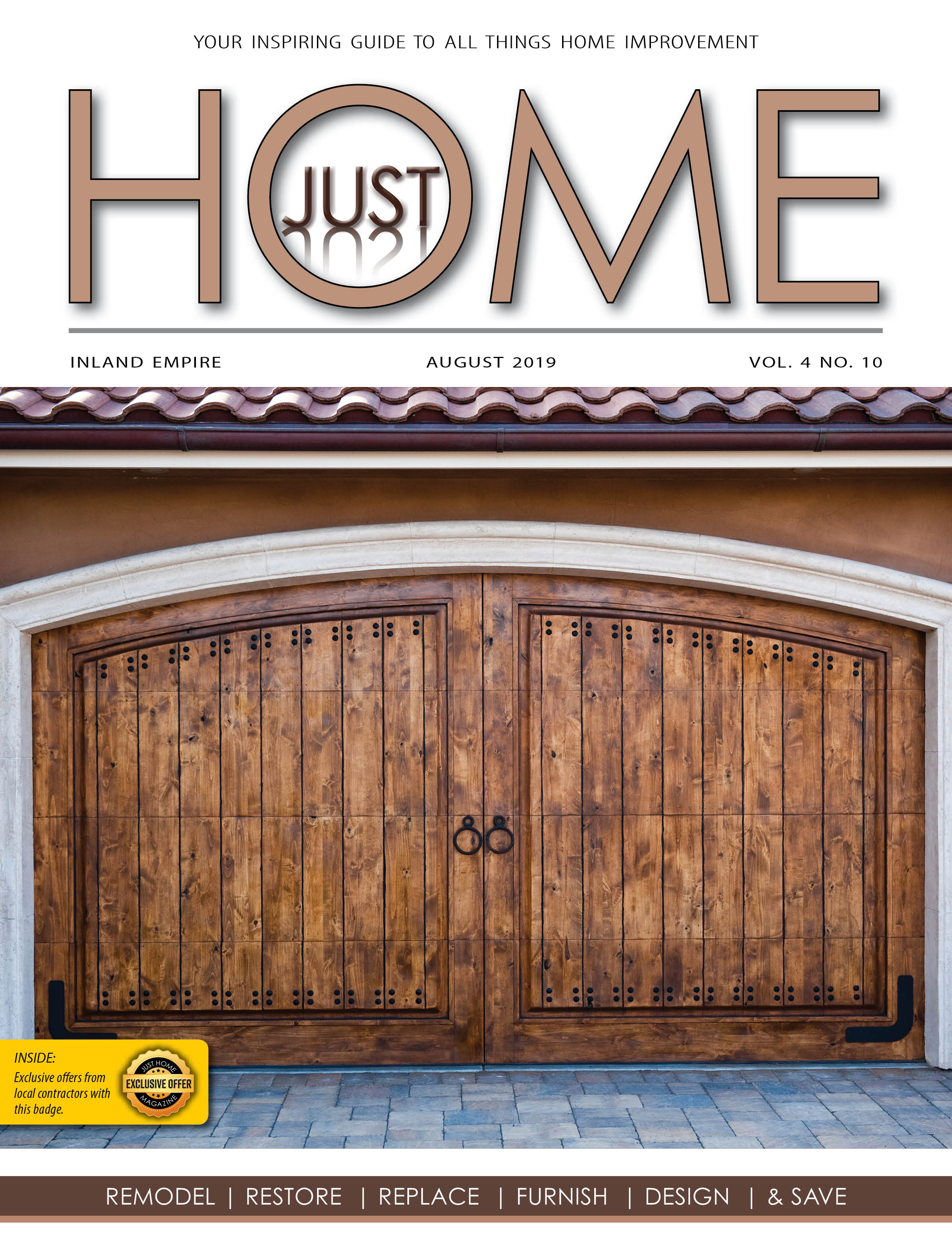 INLAND EMPIRE  - Just Home august 2019 ISSUE