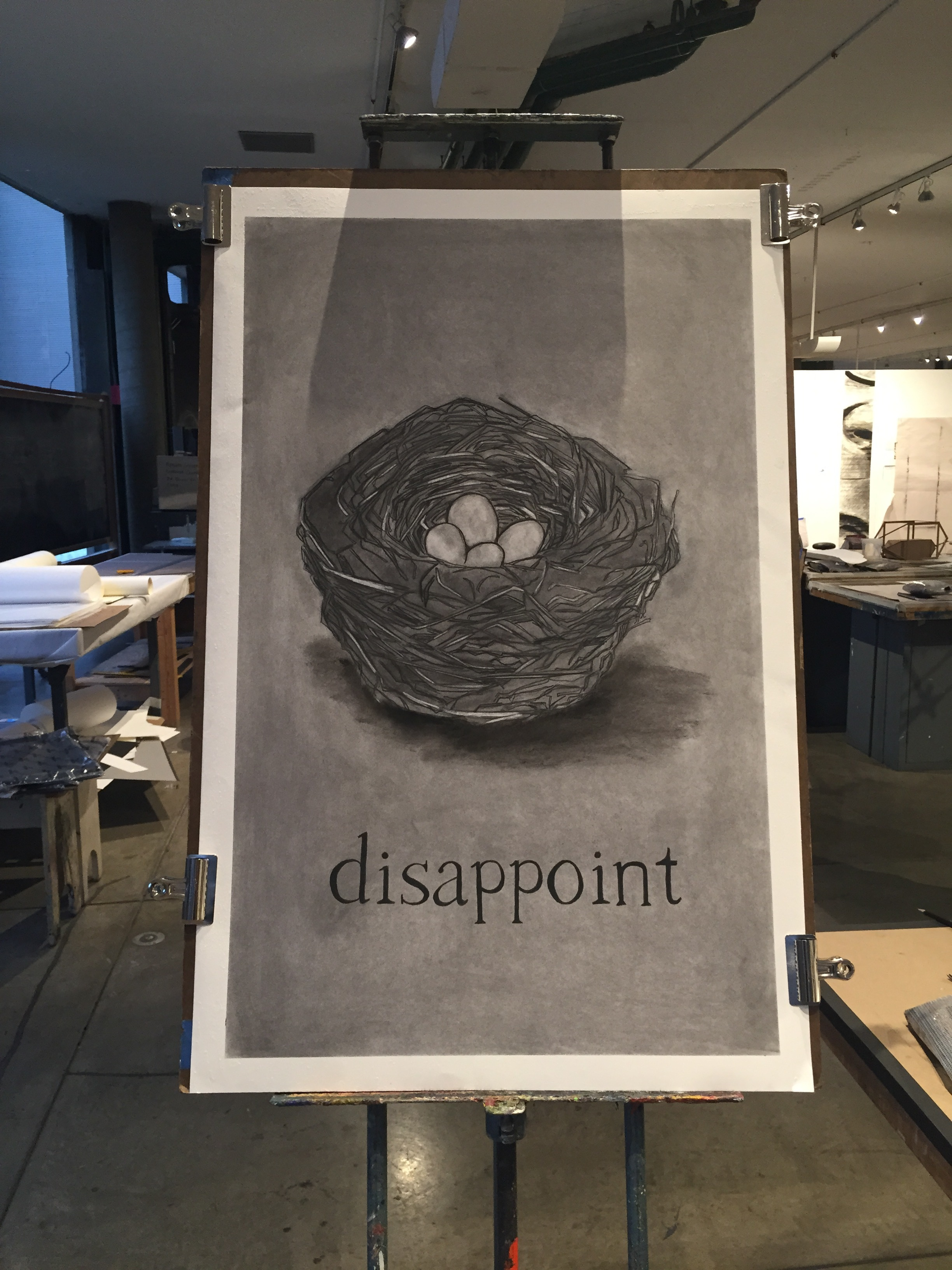disappoint / nest