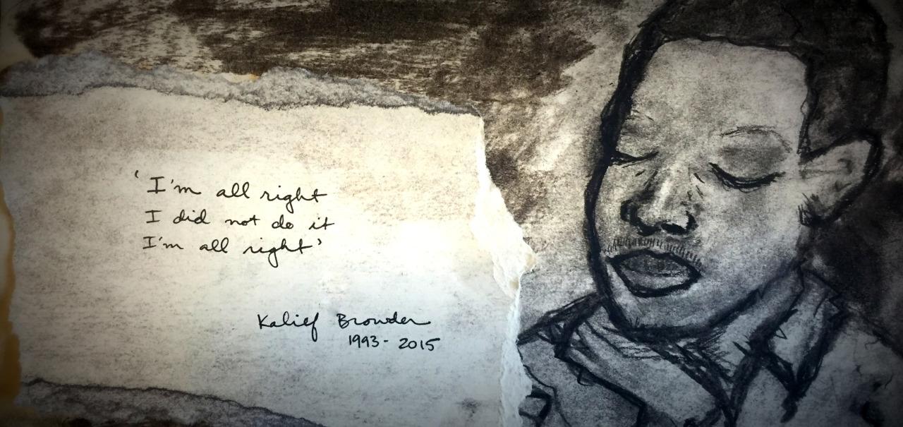 Portrait of Kalief Browder