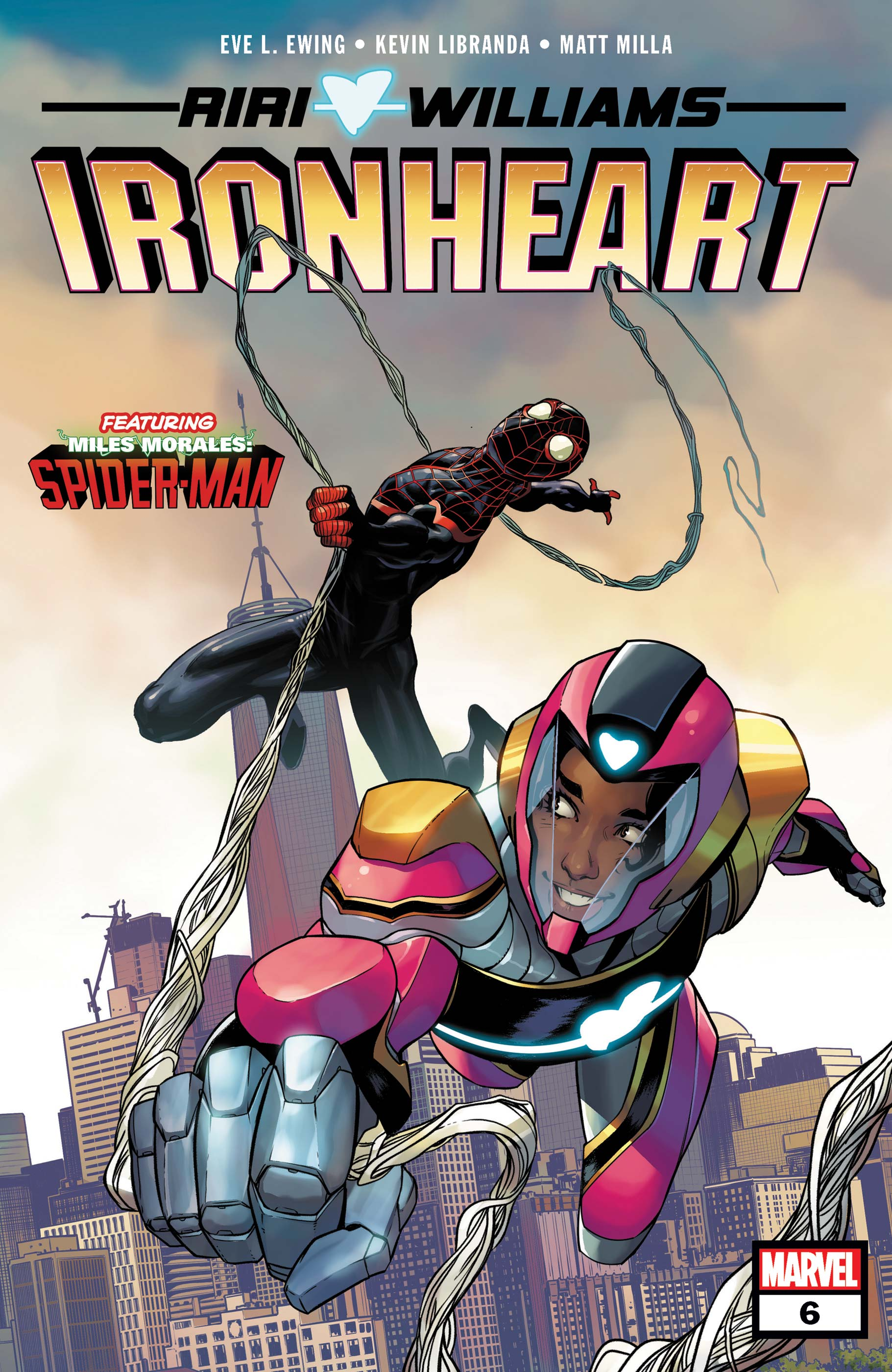 Ironheart #6. Cover by Stefano Caselli.