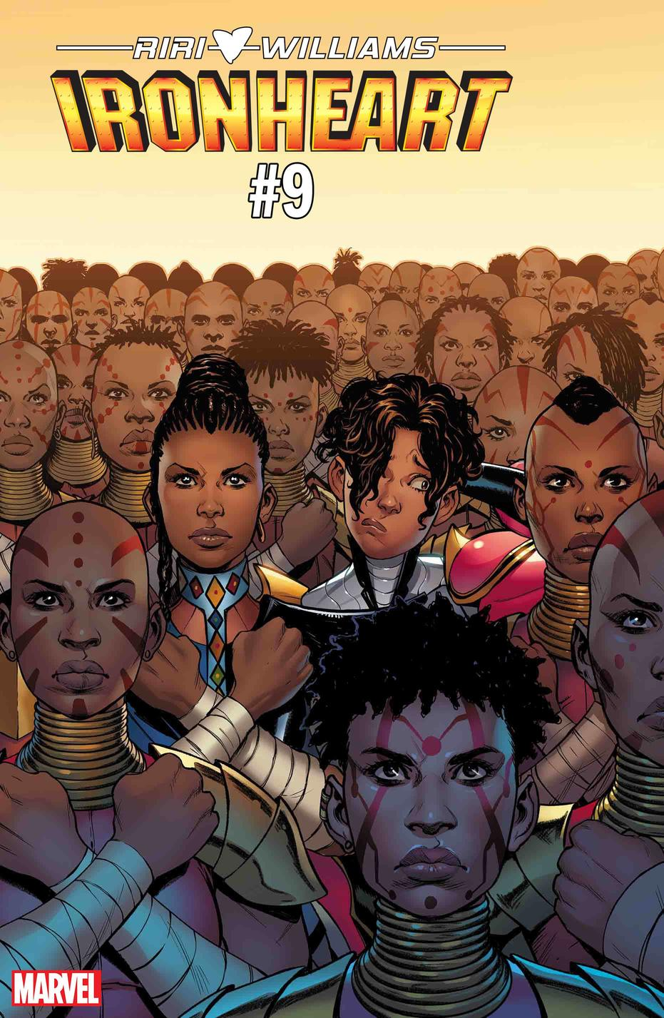 Ironheart #9. Cover by Stefano Caselli.
