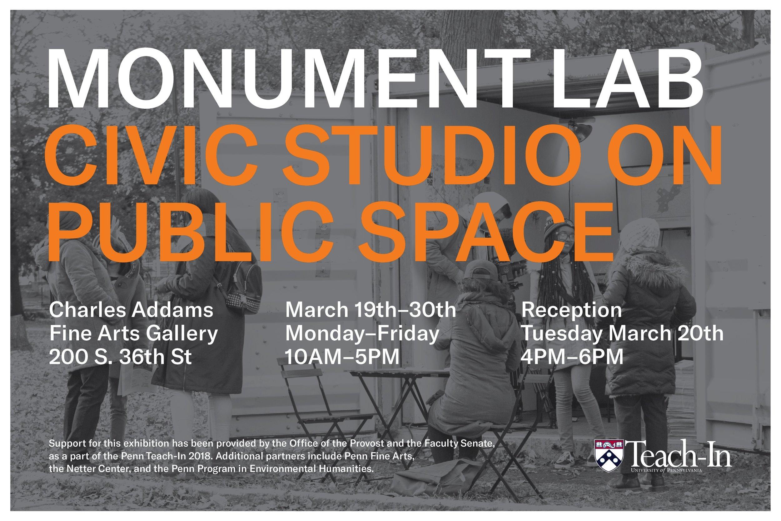Civic Studio on Public Space Philadelphia, Pennsylvania