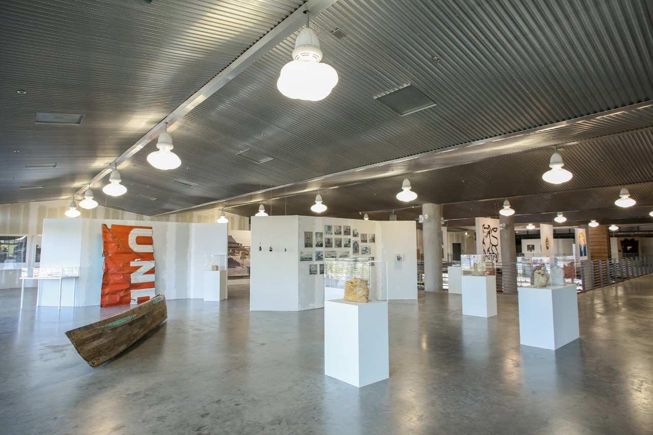 Museum of Capitalism exhibition in Oakland. (Image courtesy of FICTILIS).