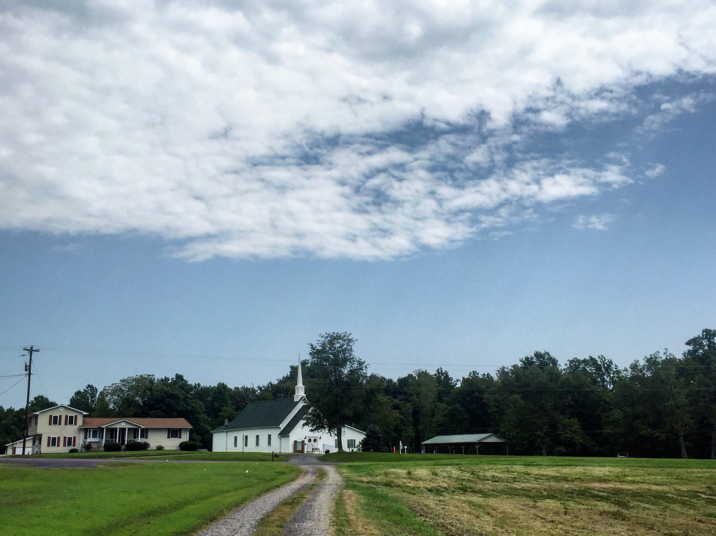 Good Hope Baptist Church, Culpeper Virginia, August 26, 2018. (Photo by author)