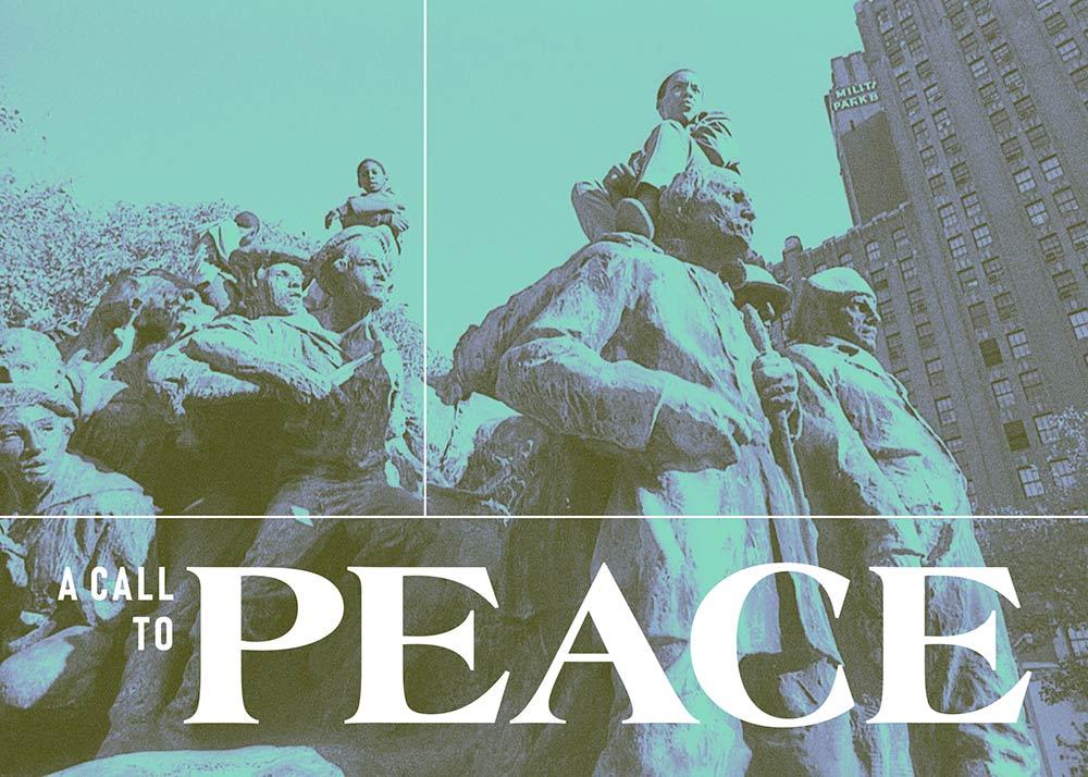 EXHIBITION - A Call to Peace (2019)October 3–November 11, 2019Newark, New JerseyArtists: Manuel Acevedo, Chakaia Booker, Sonya Clark, and Jamel Shabazz
