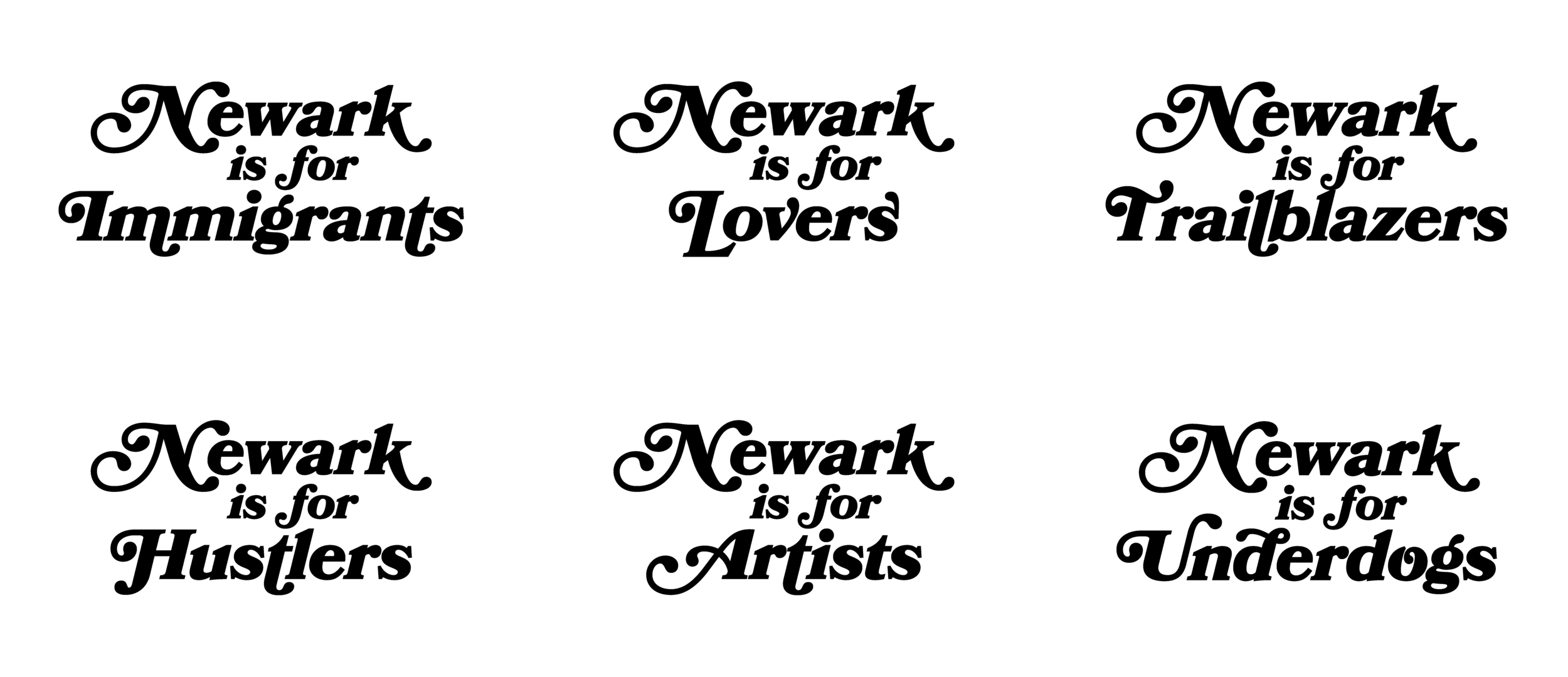 Newark is For Spread, NORK Project, Gabe Ribeiro, 2019.