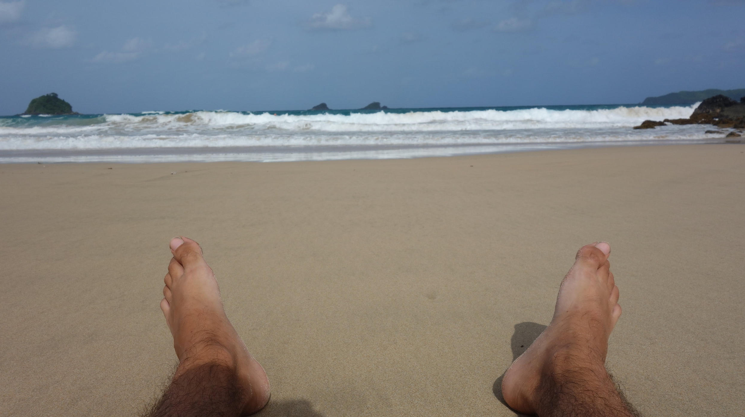 Relax at Nacpan beach - Located 45min-ride away from town, Nacpan is the perfect beach to chill out and sunbathe.