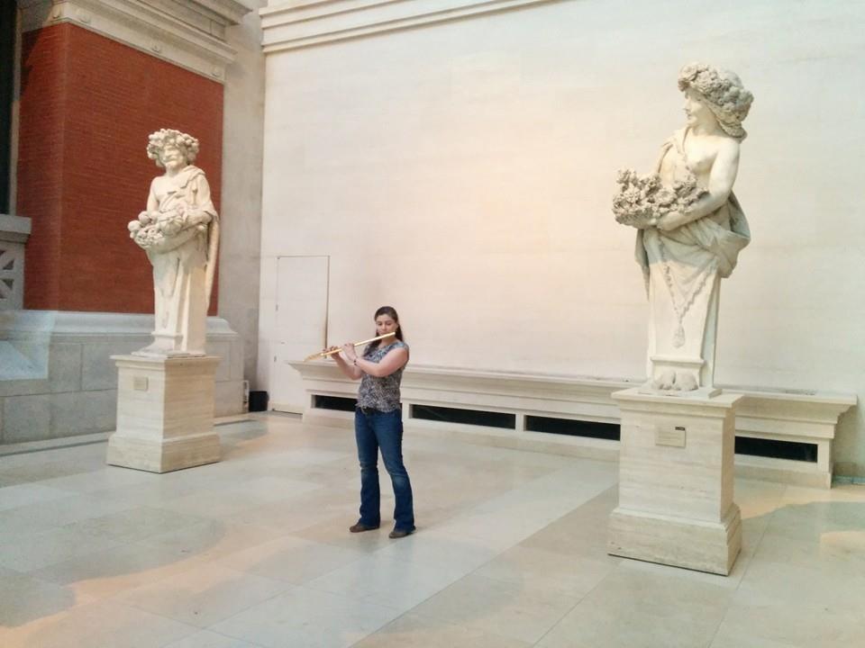 At the Met Museum