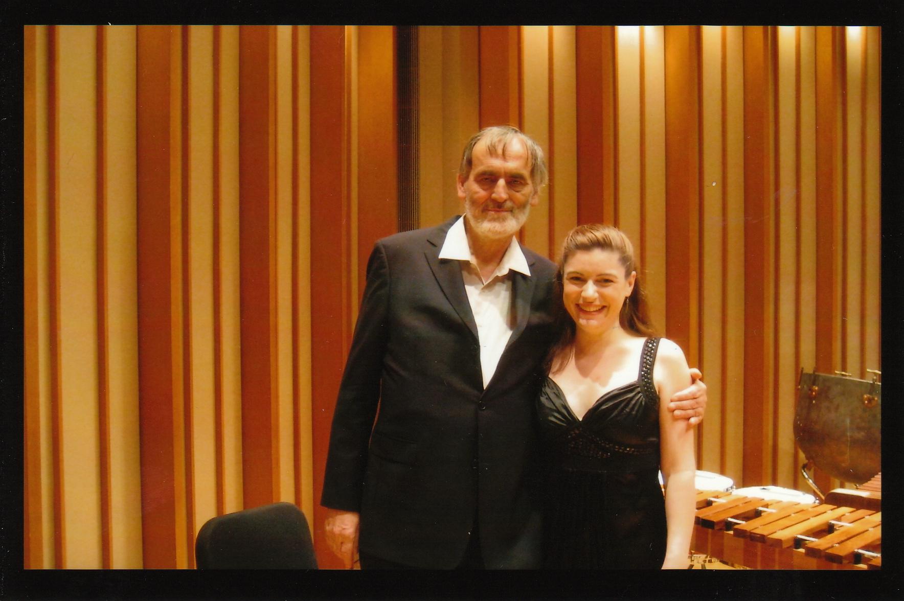 With Helmut Lachenmann