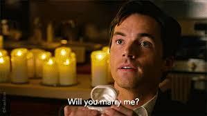 Ezra proposing to Aria