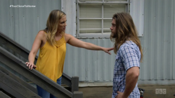 Bonnie and Brody fighting over the rent.