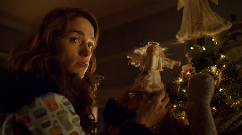 Wynonna gets caught with tampon angel.png