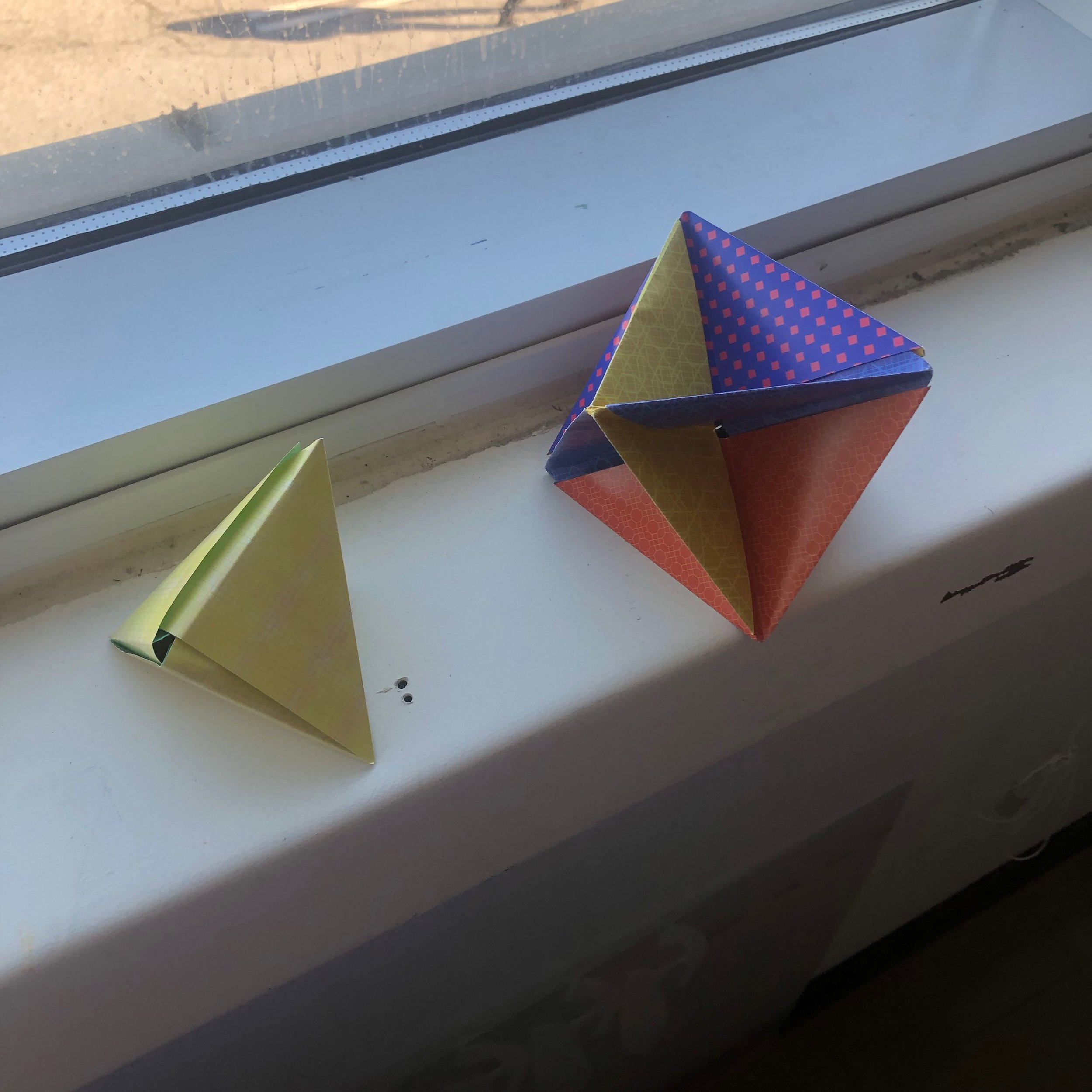 Geometric Experiments with Platonic Solids