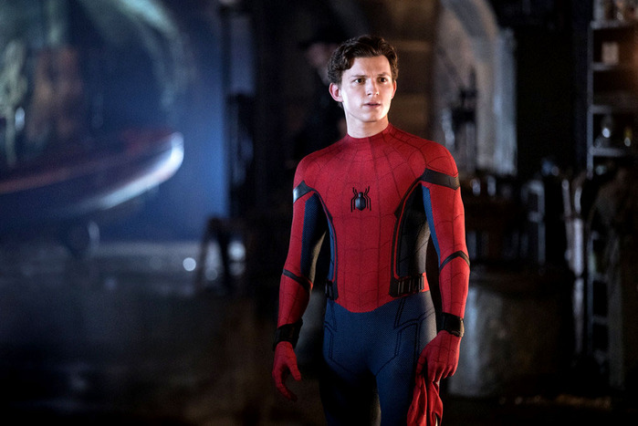 Tom Holland as Spider-Man. Photo: Jay Maidment/Columbia Pictures
