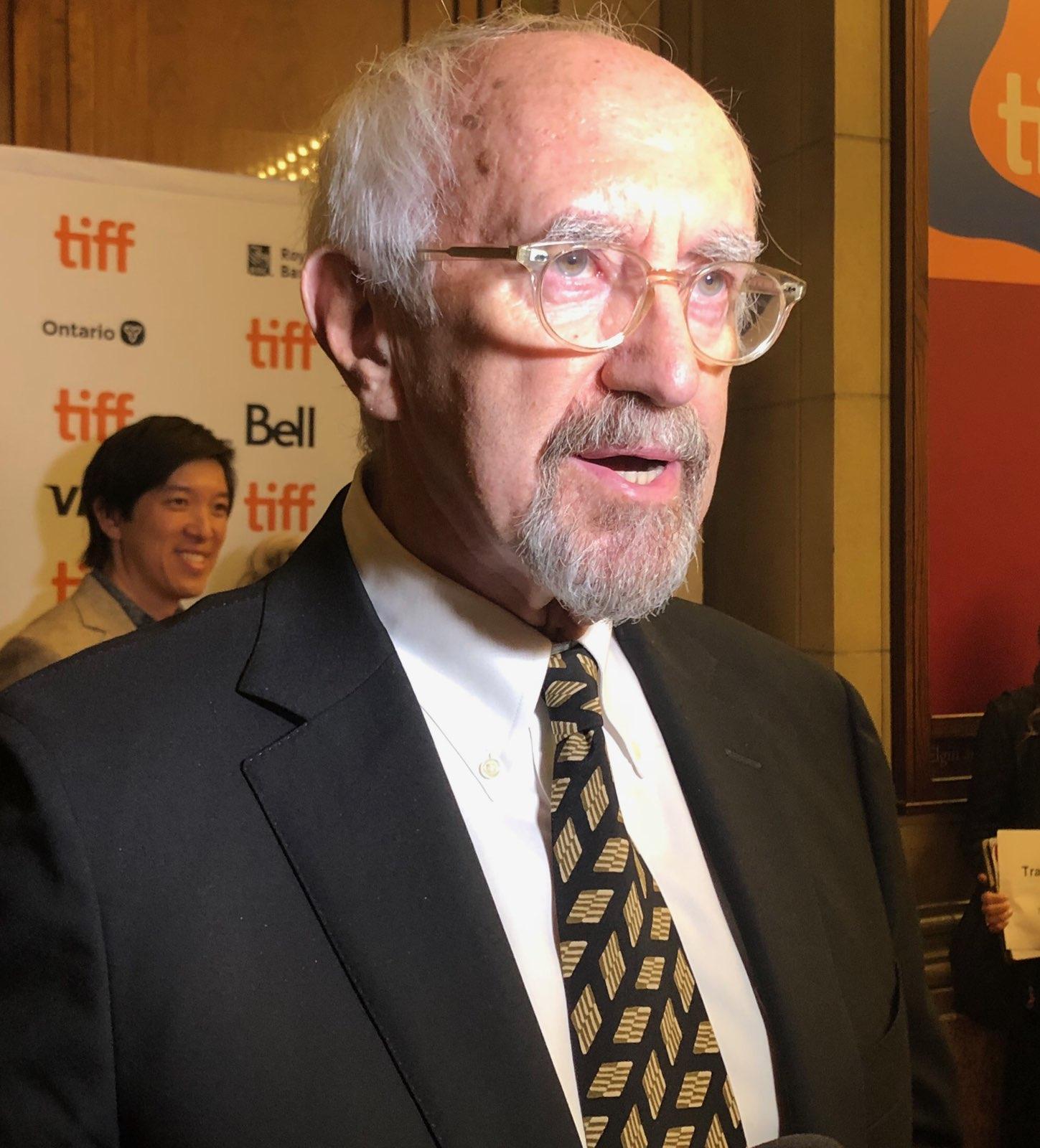 Jonathan Pryce at the 2019 Toronto International Film Festival.