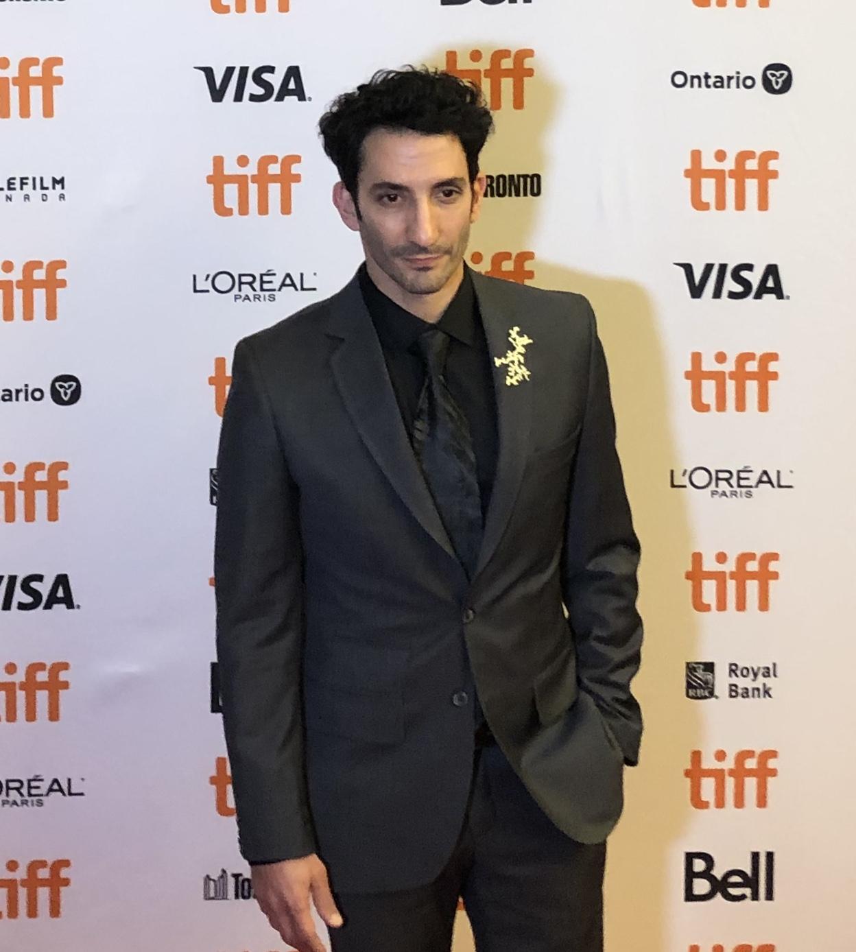 Juan Minujin at the 2019 Toronto International Film Festival.