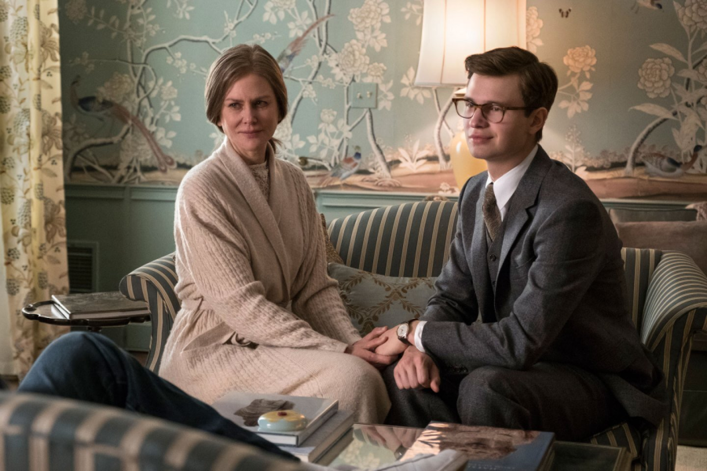 Nicole Kidman and Ansel Elgort in 'The Goldfinch.' / Photo Credit: Macall Polay