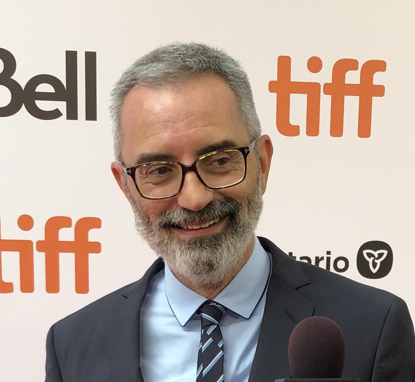 Director Giuseppe Capotondi at the 2019 Toronto International Film Festival.
