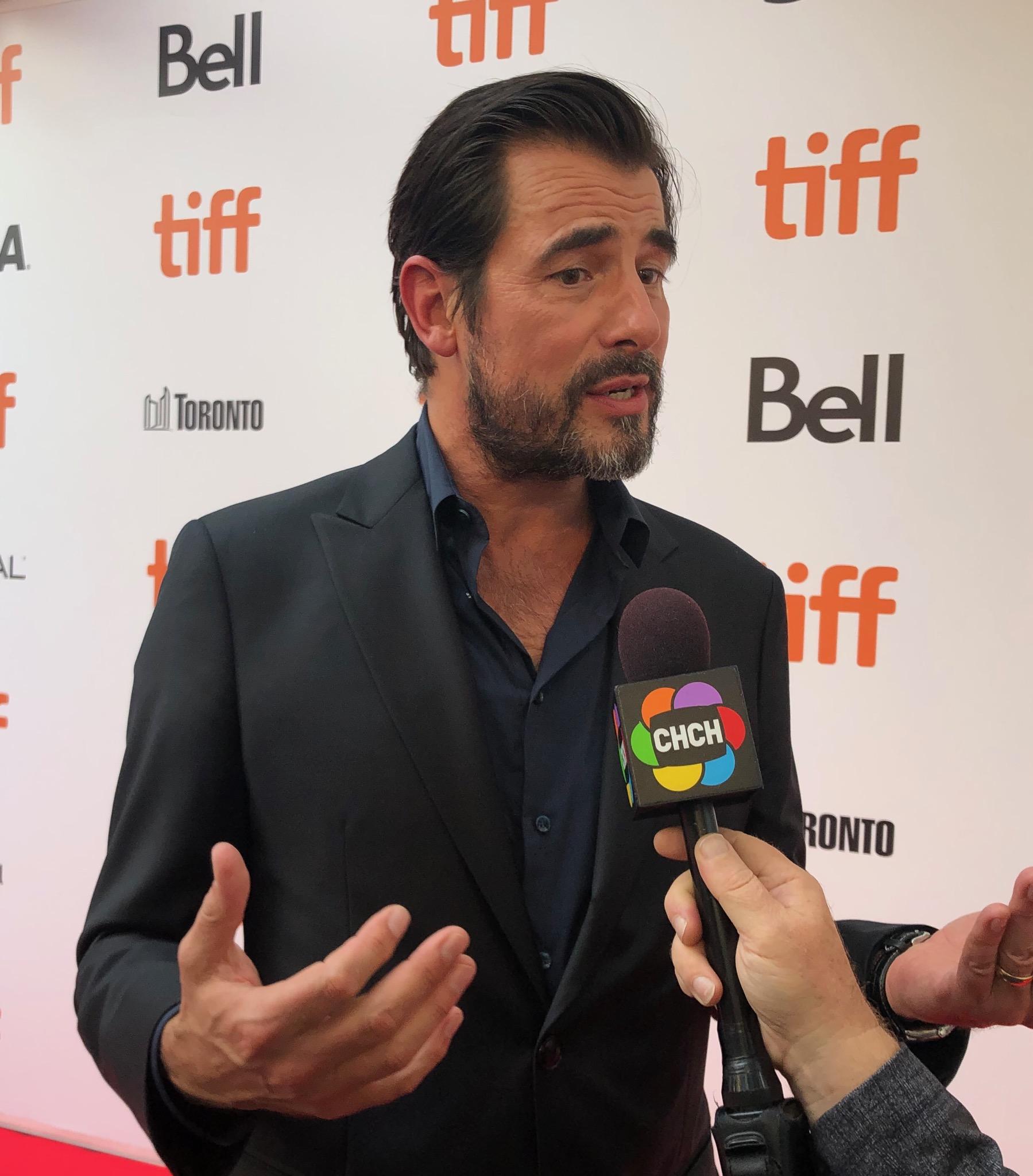 Claes Bang at the 2019 Toronto International Film Festival.