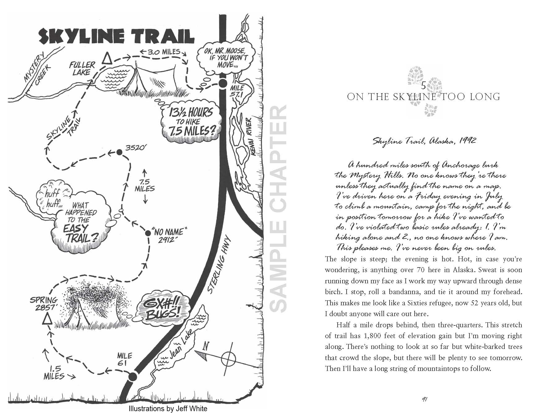 Taking The Long Way Home sample chapter pg 1 & 2