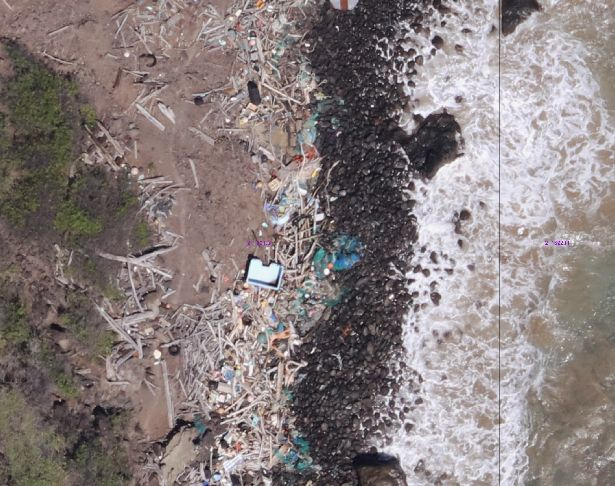 Mapping Marine Debris