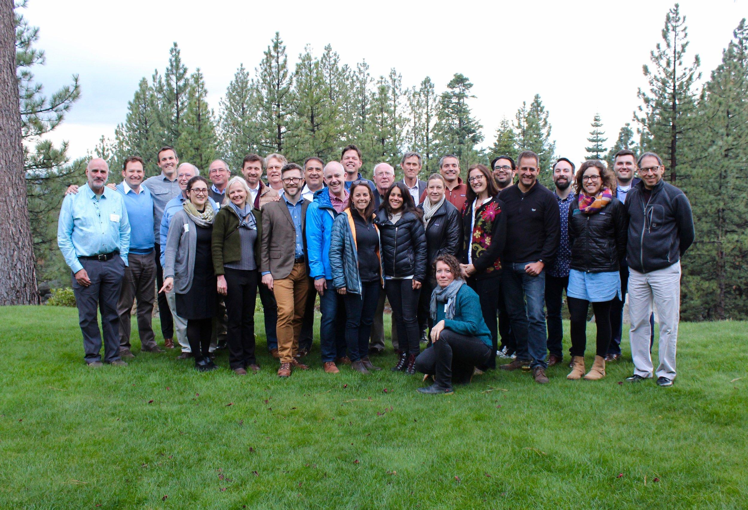 The  Water Big Think  gathered experts at Lake Tahoe in May, 2018.