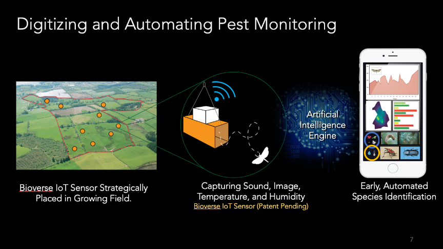 Early Pest Detection Sensor