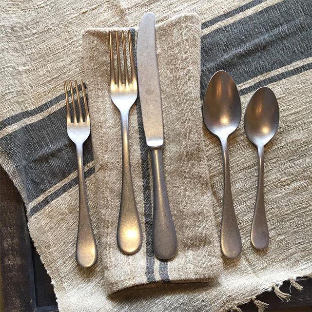 """""""Vintage"""" Italian cutlery. No frills, no fuss."""