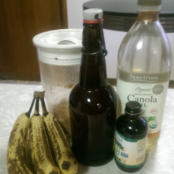 Bananas...a liquid? In the recipe they sure are!