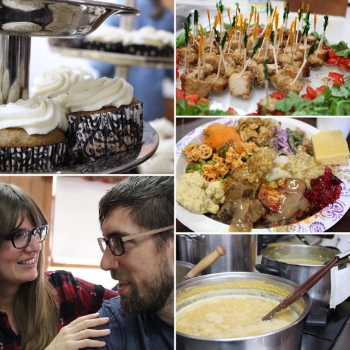 Photos from the amazing pre-Thanksgiving 100% vegan feast we recently attended in Mendon, MA benefitting Maple Farm Sanctuary (the owners are featured in the documentary Peaceable Kingdom!)