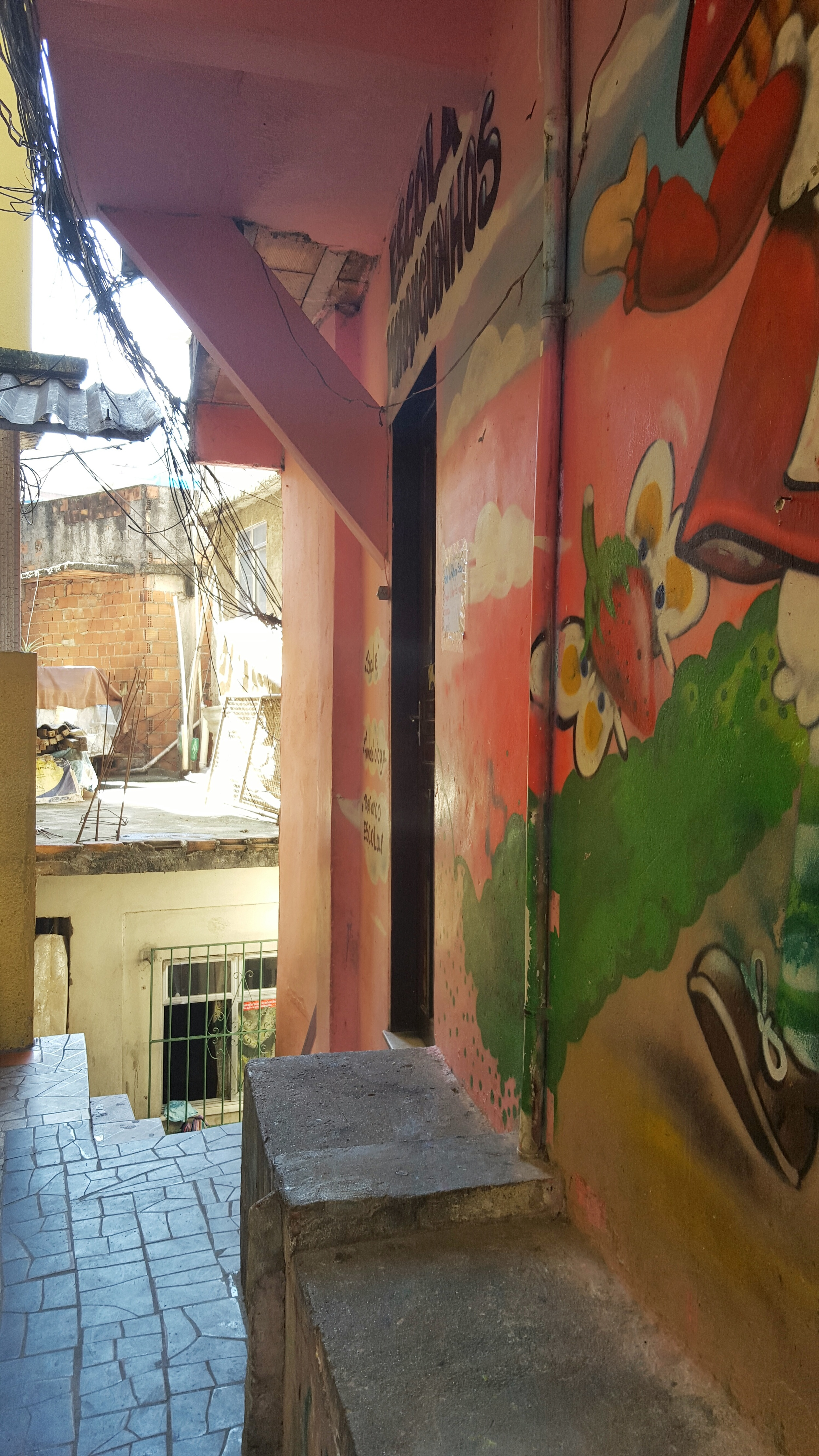 Local favela school