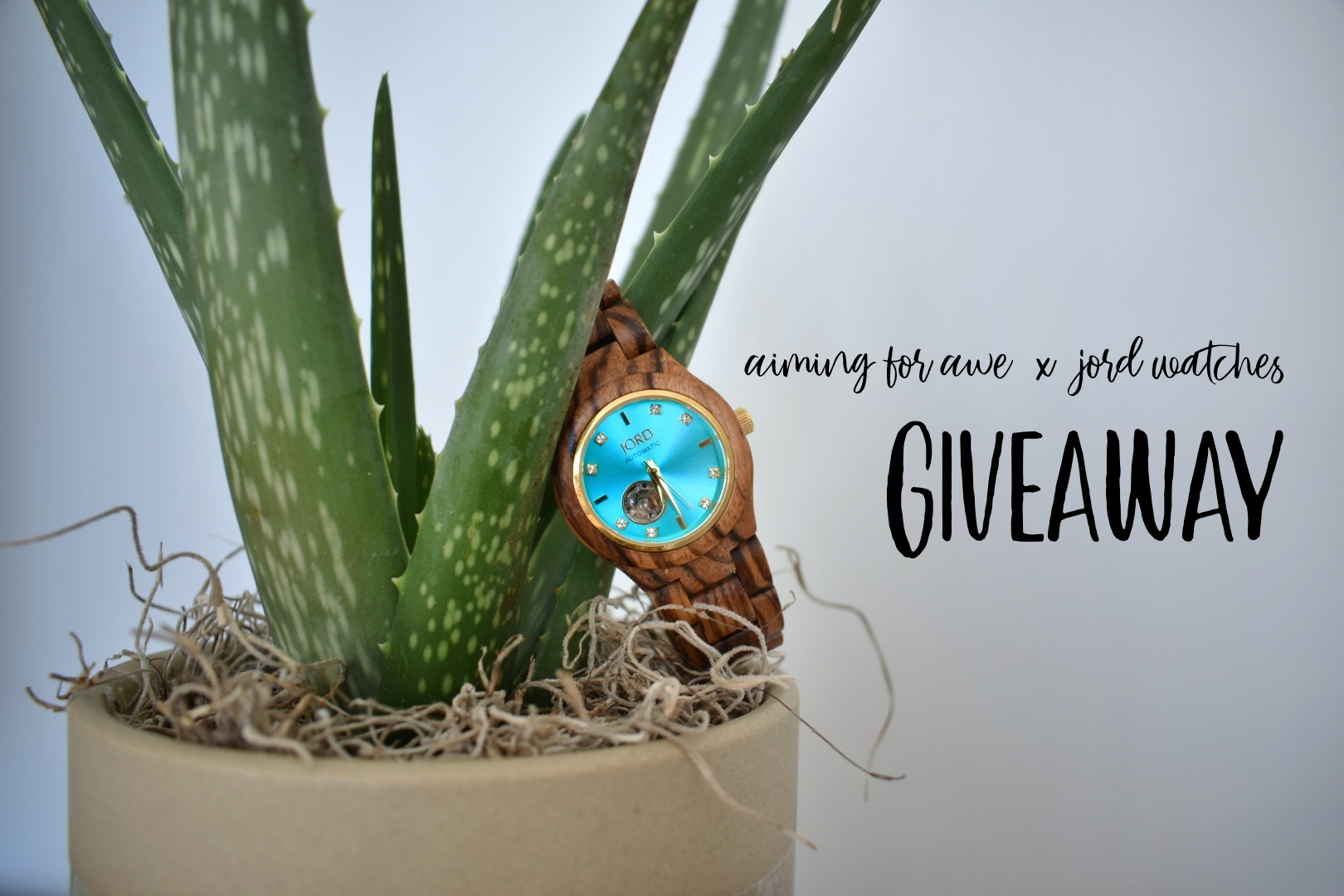 Aiming For Awe x JORD Watches Giveaway - AIMINGFORAWE.COM