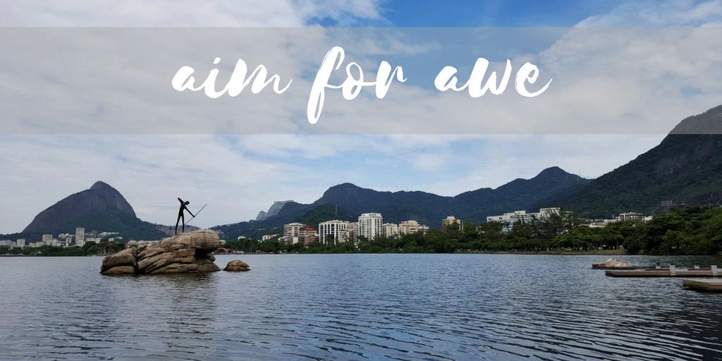 Aim for awe: Photo taken at Lagoa, Rio de Janeiro - AIMINGFORAWE.COM